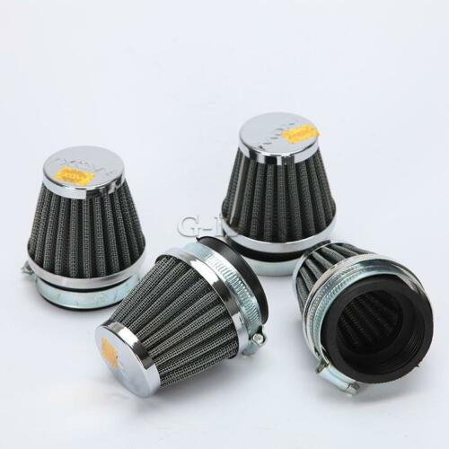 4X 50mm Cold Air Intake Filters POD For Honda CBR 600 F3 F4i 900 929 954 1000 RR