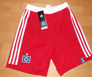 Hamburger-SV-Kinder-Hose-Shorts-in-der-Groesse-152-von-Adidas