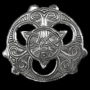 Keltische-Triade-Anhaenger-925er-Silber-Symbol-Schmuck-NEU