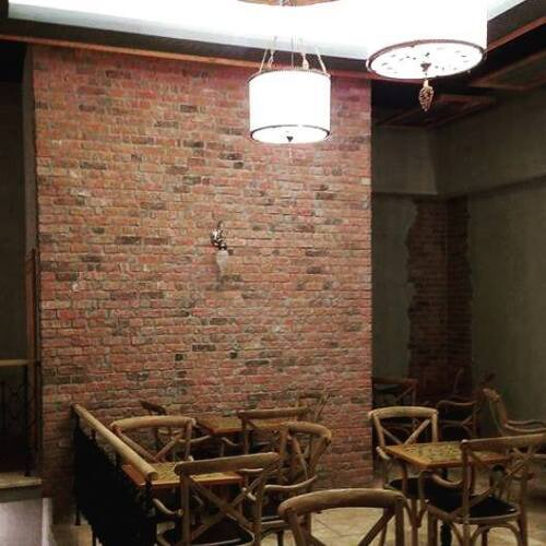 Feature Wall Brick Tiles SAMPLE Cottage Red Brick Slips