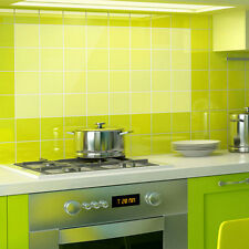 Transparent Kitchen Tile Wall Paper Oil Proof  Self-adhensive Sticker Kitchen WW