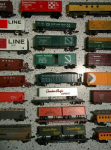 N-Scale-Freight-Car-Lot-Bachmann-Life-Like-Atlas-Passenger-Stock-Box-Car-Gondola