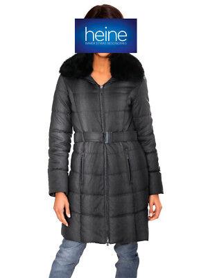 NEU!! KP 129,90 € Mantel Linea Tesini by heine Helltaupe