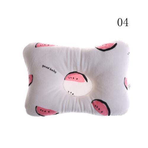 Newborn Infant Baby Pillow Prevent Anti Roll Flat Head Neck Cushion Pillow newKH