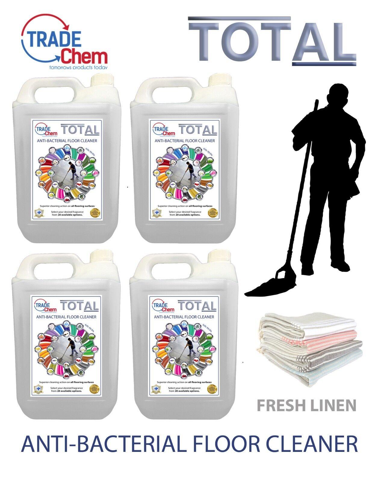 Fregasuelos 5L 10L 15L 20L Total Antibacteriano - Fresh Linen Esencia