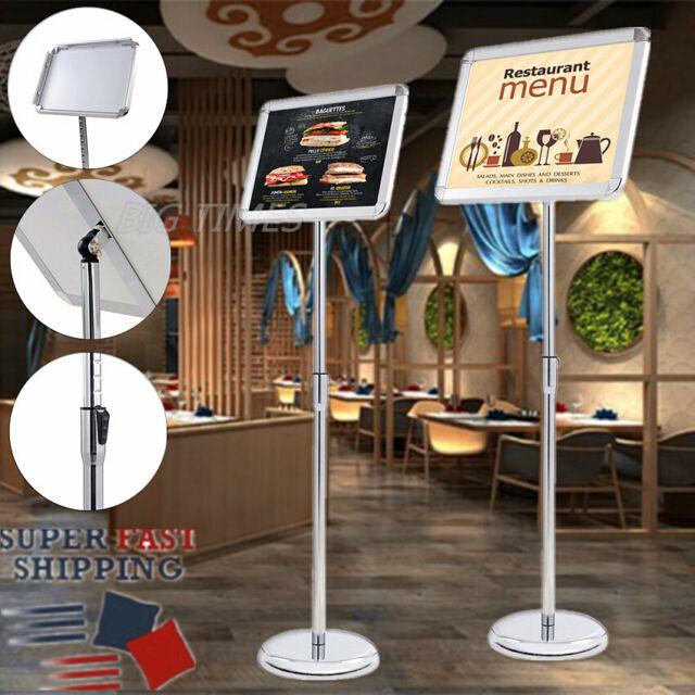1 pack,Poster Stand Pedestal Display Floor Standing Adjustable tilt Sign Holder