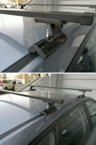 Komplett Dachträger Stangen Set für Ford Mondeo Mk 3 2001-2007 Reparatur Point