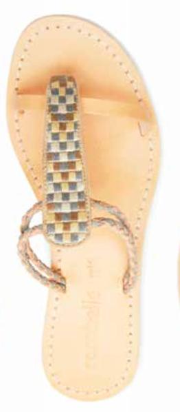 Cocobelle Women`s Sandals Cali Sandal Leather Slip On Slide Sandals Sandals Sandals Cloud NWT e6f328