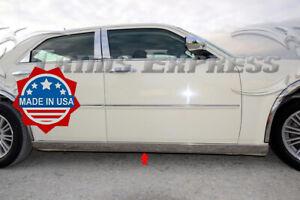 fits-2005-2010-Chrysler-300-300C-2Pc-Extreme-Lower-Rocker-Panel-Molding-Trim