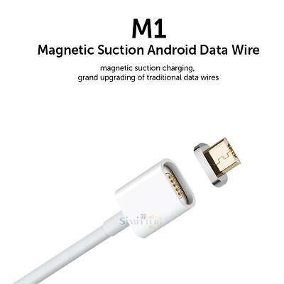 2.4A Magnetic Micro USB Charger Adapter Charge Cable for Samsung HTC LG Huawei