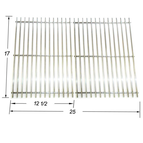 JCX022 Stainless Steel Cooking grid Replacement Universal Gas Grill