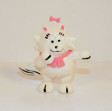 "Vintage 2.75"" Sonja PVC Action Figure Heathcliff Girlfriend Female White Cat"