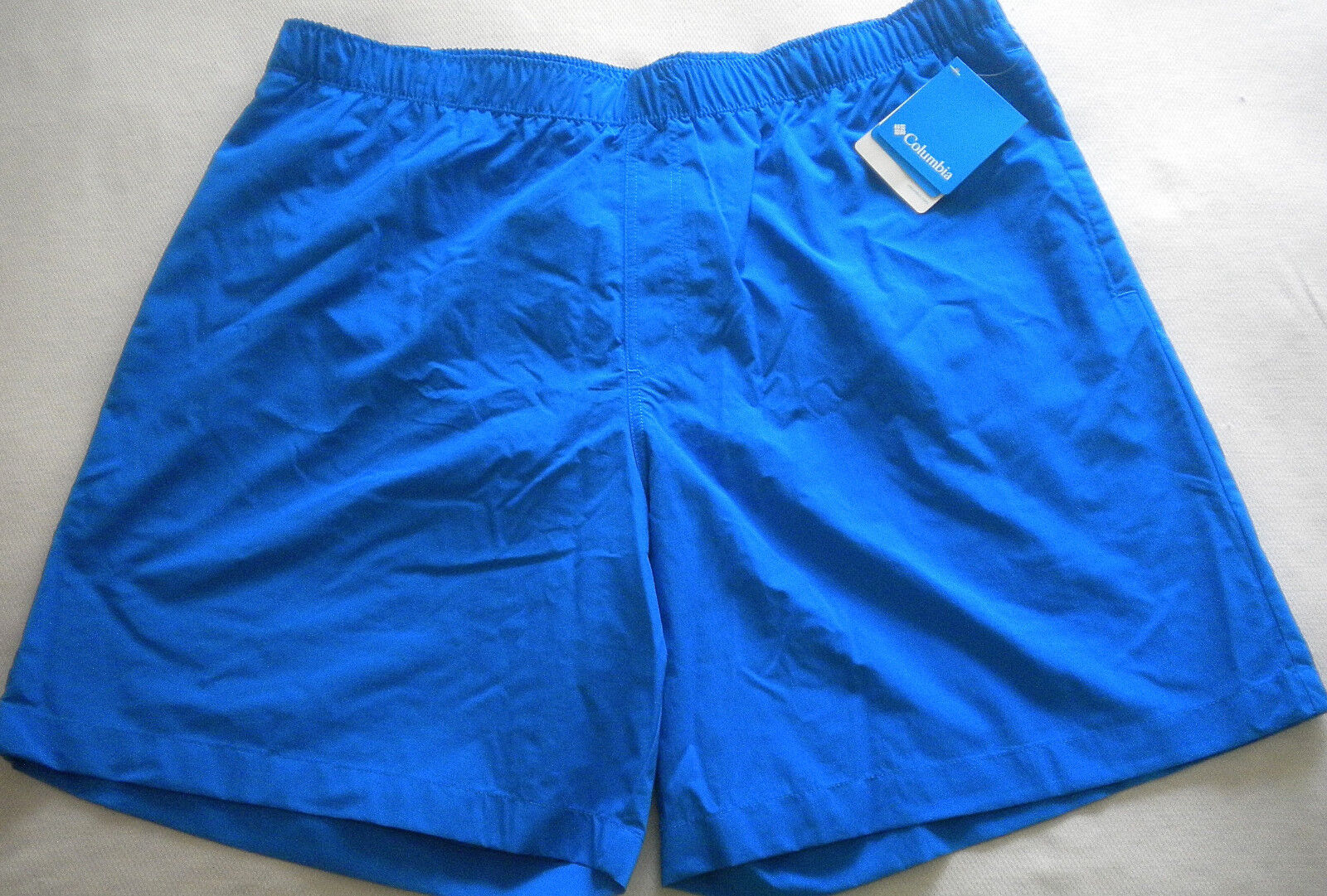 NWT  Men's COLUMBIA SWIM TRUNKS Gulf Breeze INNER BRIEF bluee XL