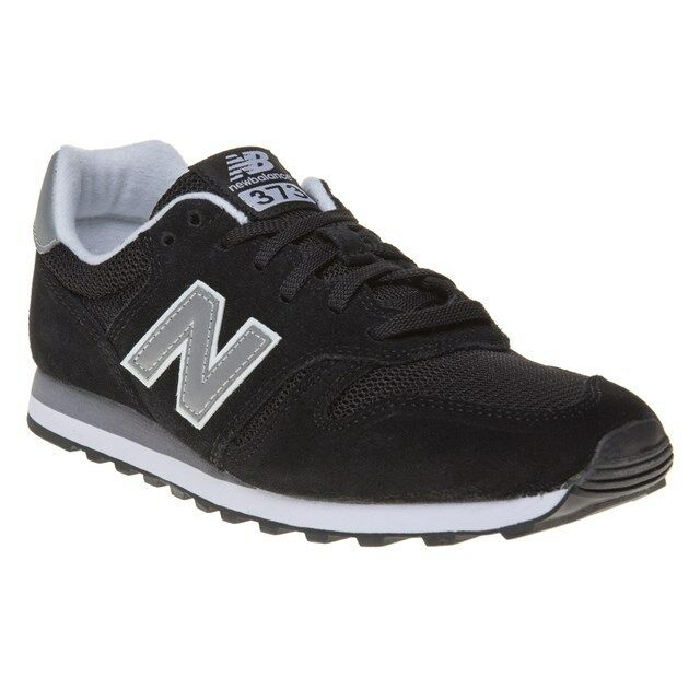 New MENS NEW BALANCE BLACK 373 SUEDE Sneakers Retro