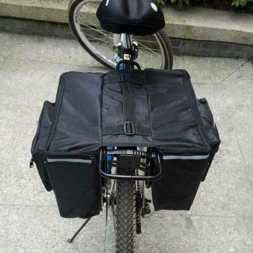 Double Side Bicycle Rear Back Bag Waterproof Mouantain Road Bike Tail Seat Bag