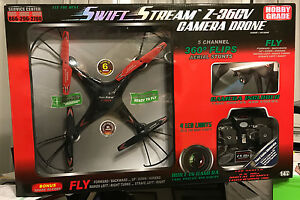 New-Swift-Stream-Z-36CV-2-4GHz-5-Channel-RC-Drone-with-Camera-amp-2GB-Memory-Card