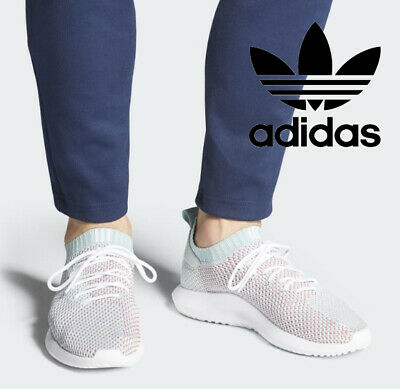 Adidas Schuhe Damen Herren TUBULAR Shadow Primeknit PK Grün Weiß AC8796 SALE | eBay
