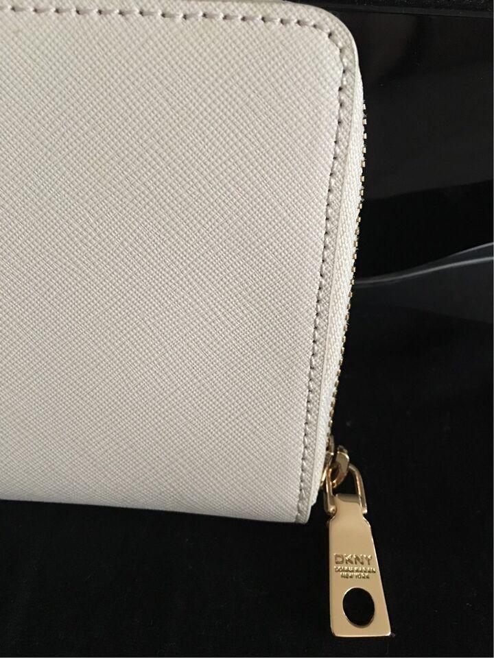 Clutch, DKNY, læder