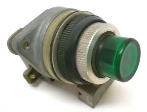 NEW-Push-Button-Unit-Green-GE-CR294-1-NO-Contact-Momentary-Made-in-USA