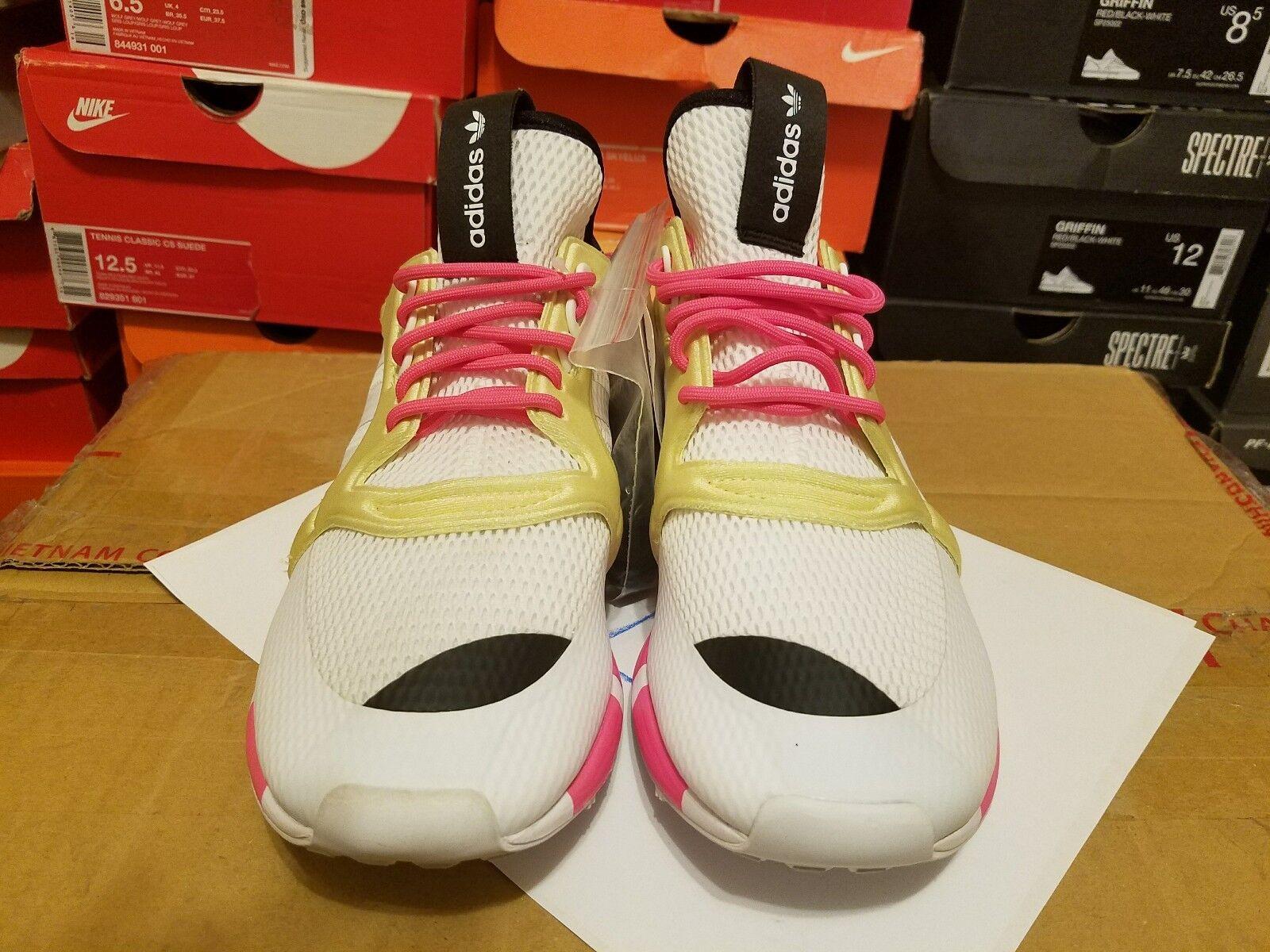 neue adidas / originals boston super cc trainer b25844 weiße / adidas pink und gelb da6026