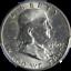 1960-D-Franklin-Half-Dollar-PCGS-MS64-Nice-Eye-Appeal-Nice-Luster-Nice-Strike thumbnail 1