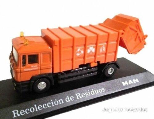 MAN CAMION Recolección de residuos 1:72 diecast