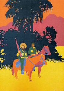 Canvas Cuba War Good For Antipyretic And Throat Soother 1 Art Print Poster
