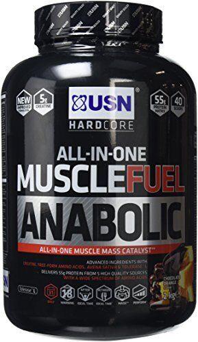 Muscle Fuel Anabolic Lean Muscle Gain Shake Shake Gain Powder, Chocolate Orange, By Usn aa2c4a