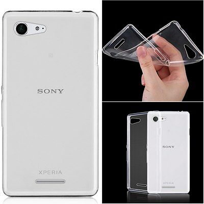 ULTRA SLIM TPU SOFT SILICONE CLEAR BACK CASE COVER FOR Sony Xperia Phones