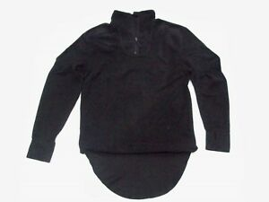 "NEW - Cold Weather BLACK Fleece Thermal Undershirt Size Large 180/100 43"" Chest"
