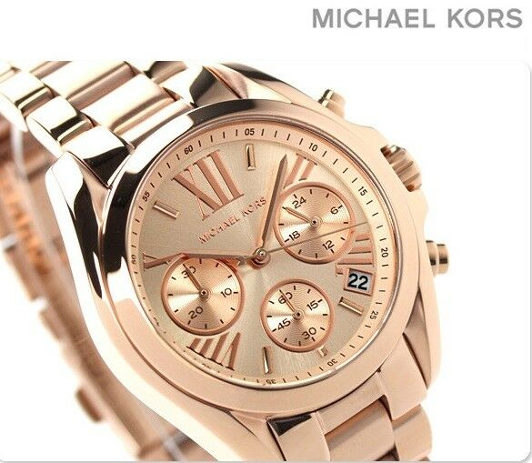 b65333e1276a 100 Michael Kors Ladies Chronograpch Watch MK5799 for sale online