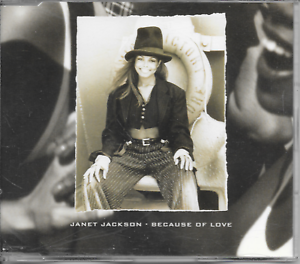 JANET-JACKSON-Because-of-love-CD-SINGLE-3TR-Europe-1994