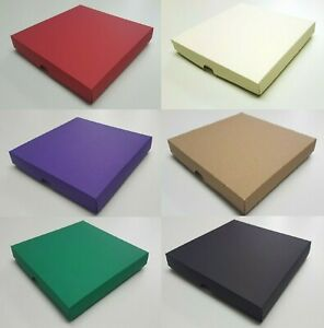 Greeting Card Box 7x7 Aperture Gift Box Wedding Invites//6 Colours//Choose Qty