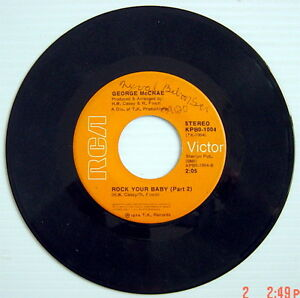 1974-039-S-45-R-P-M-RECORD-GEORGE-McCRAE-ROCK-YOUR-BABY-ROCK-YOUR-BABY-Part-2