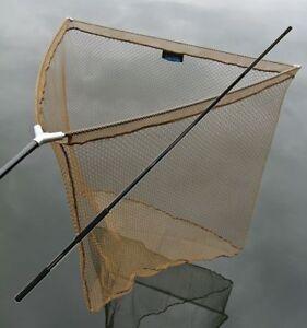 Epuisette-Carpe-85cm-Epuisette-Carpe-Filet-1-80m-Kescherstange-Metal-Bloc