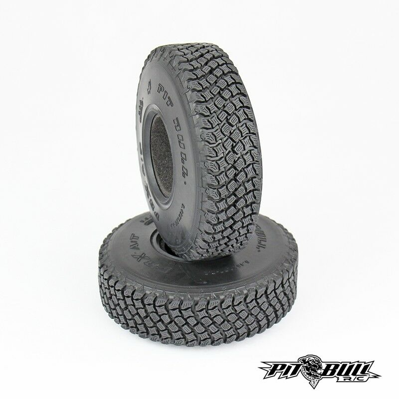 Pit Bull 2.2 AT Hardcore Scale RC Tires Alien Kompound with Foam (2) PBTPB9012AK