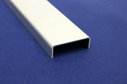 1,5m U-Profil Abdeckprofil Aluminium eloxiert E6//EV1 L=1500mm Sichtseite AUSSEN