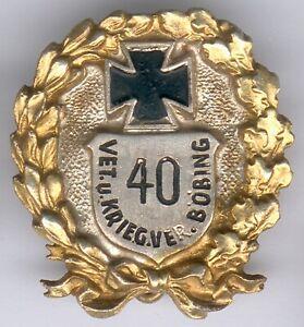 Bayern-Vet-u-Kriegerverband-Abzeichen-Boebing-mit-Ehrenkreuz-und-Eichenlaubk