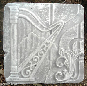 Harp-tuscan-tile-plastic-mold-plaster-concrete-mould