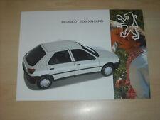 60457) Peugeot 306 XN XND Prospekt 12/1993