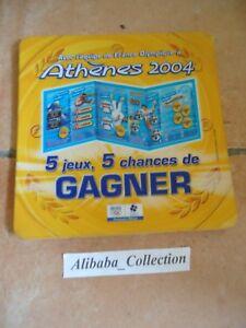Publicidad-Pick-Up-Moneda-Fdj-Francesa-de-Juegos-Ticket-Gatos-Jo-Athenes-2004