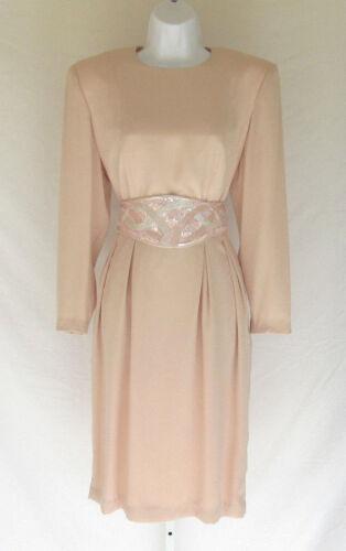 VINTAGE 1980s MS CHAUSE DRESS BEADED BELT
