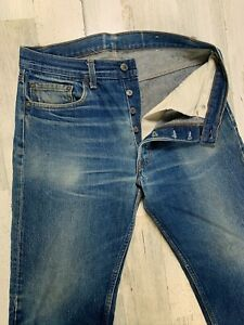 Vintage-Levis-Button-Fly-Jeans-32x28-Distressed