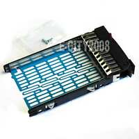 2.5 Sas Sata Hard Drive Tray Caddy Hp Proliant Ml350 G5 G6 Gen5/6 Ship From Usa