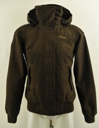 Coat Womens Jacket Brown Of 1429 Xs Bergans Size Norway Lady Zipped Hooded Skui pwnB41