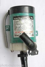 Iwaki Magnet Pump MD-10-NL16 cap11/12 head1.5/2.1 100V 2800/3100rpm - USED E38M