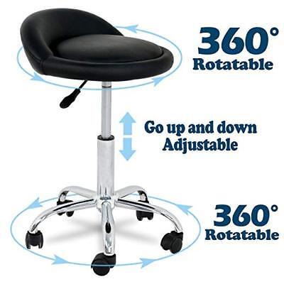 Astonishing Rolling Swivel Stool W Wheels Adjustable Tattoo Facial Massage Spa Salon Black 700161261981 Ebay Creativecarmelina Interior Chair Design Creativecarmelinacom