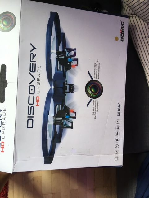 Drone, Udi r/c Discovery HD opgradere, Drone, en motor er…