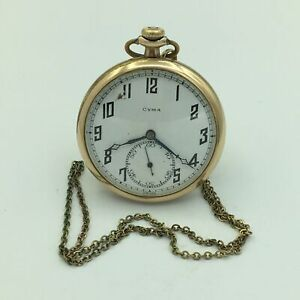 13068532 9s W/7 In Chain Of Pocket Watch No An Indispensable Sovereign Remedy For Home Straightforward Tavannes Cyma Swiss 15j Gf 4 Adj