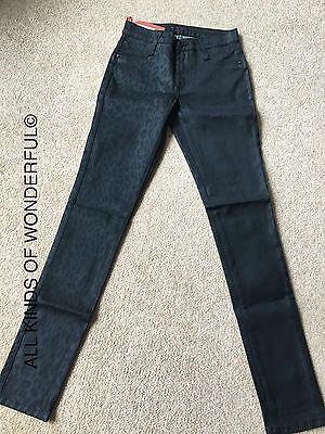 RRP£200 BNWT James Jeans Twiggy The Cropped Legging in Fetch DK BLU